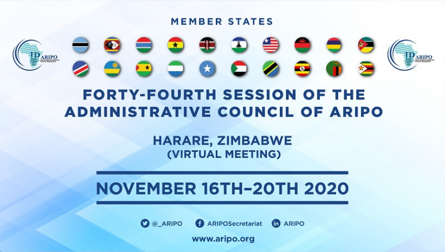 ARIPO held its 44th Session of the Administrative Council
